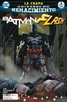 """Batman/Flash: La Chapa"" (Joshua Williamson, Tom King, Howard Porter y Jason Fabok, ECC)"