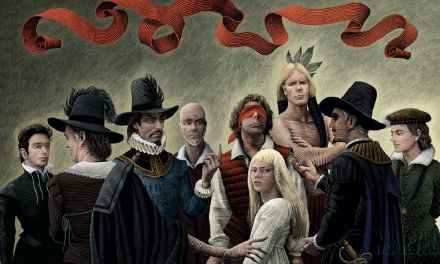 """Marvel 1602"" (Neil Gaiman y Andy Kubert, 2003)"