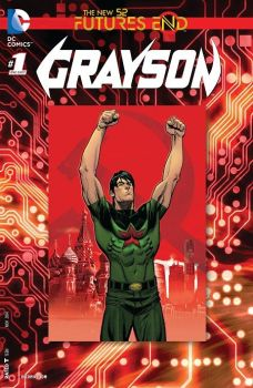 """Grayson"" (Tim Seeley, Tom King, Mikel Janin y otros, ECC Cómics)"