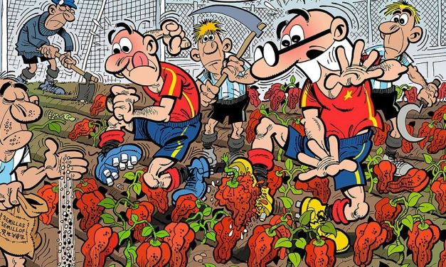 """Mortadelo y Filemón. Mundial 2018"" (Francisco Ibáñez, Ediciones B)"