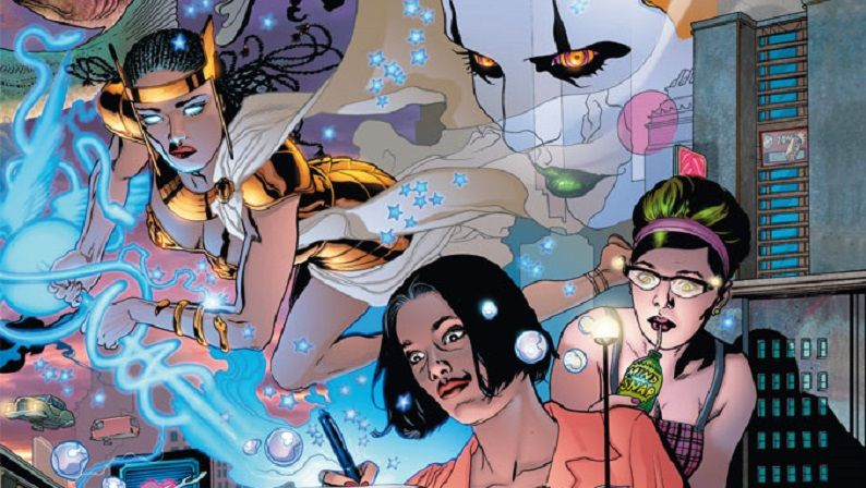 """Promethea"" (Alan Moore y J.H. Williams III, ECC Ediciones)"