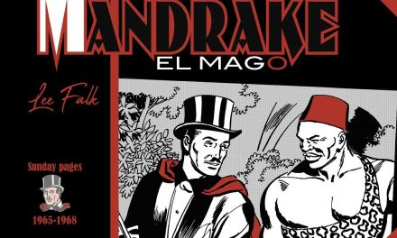 """Mandrake El Mago. Sunday pages 1965-1968"" (Lee Falk y Fred Fredericks, Dolmen)"