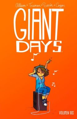 Portada Giant Days Vol. 2