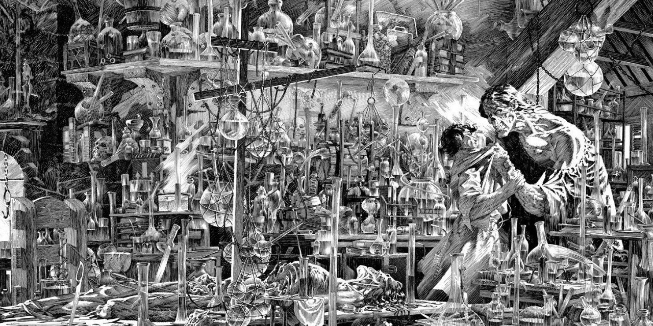 «Frankenstein» (Mary Shelley y Bernie Wrightson, Planeta Cómic)