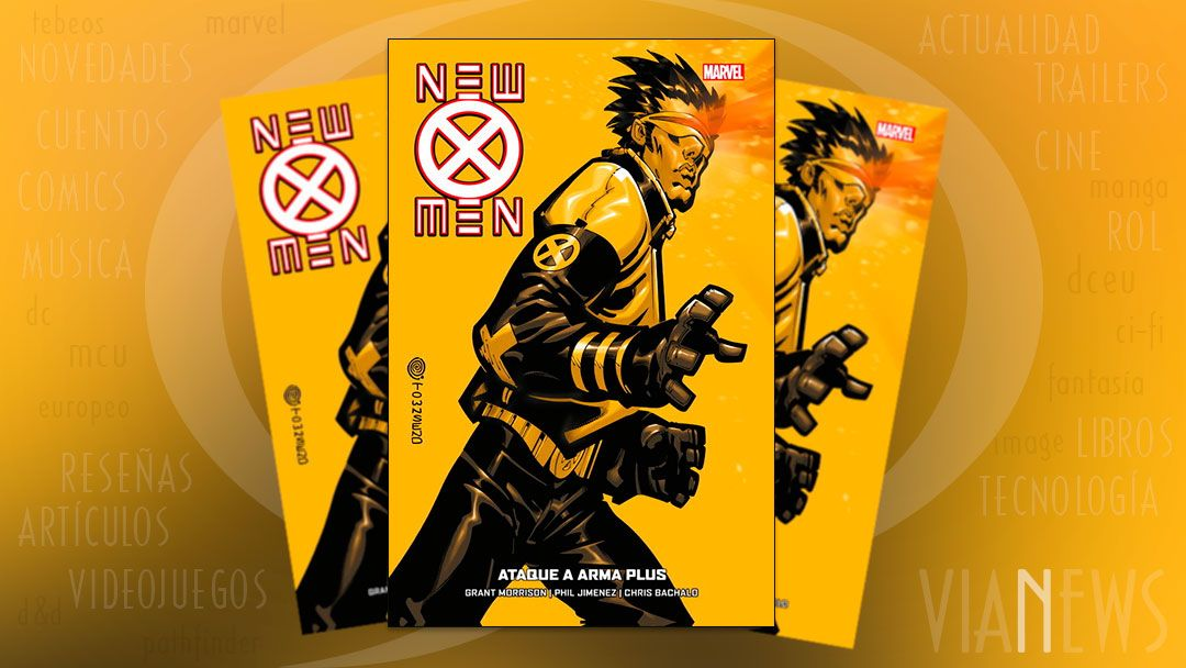 «New X-Men #5: Ataque a Arma Plus» (Grant Morrison, Phil Jimenez y Chris Bachalo, Panini Cómics)