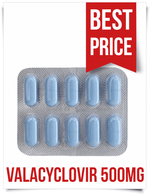 Cheap Centrex Valacyclovir 500 mg pills at ViaBestBuy