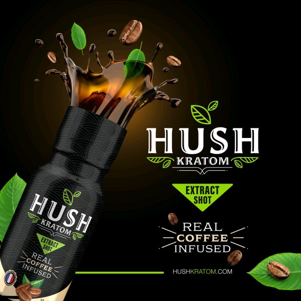 Hush Coffee Kratom Shot
