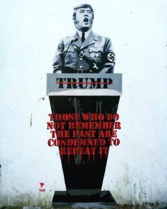 Pegasus Trump as Hitler