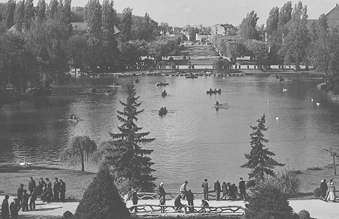 parcul carol perioada interbelica