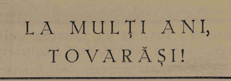 la-multi-ani-tovarasi-1952