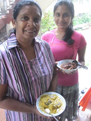 Anula and Thatya en Sri Lanka