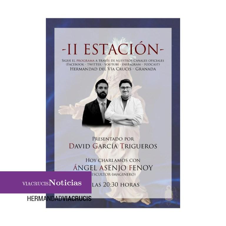 """""""Segunda estación"""" con Ángel Asenjo Fenoy"""