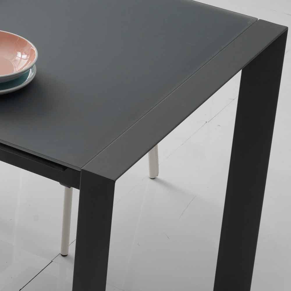Tavoli Allungabili Vetro E Acciaio | Tavolo Big Table Di ...