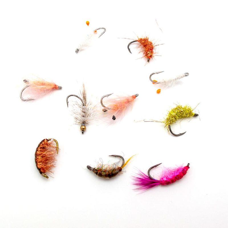 ophaengerfluer fra Go-Fishing