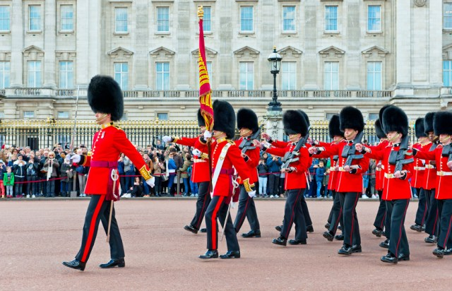 The Royal Guards, London