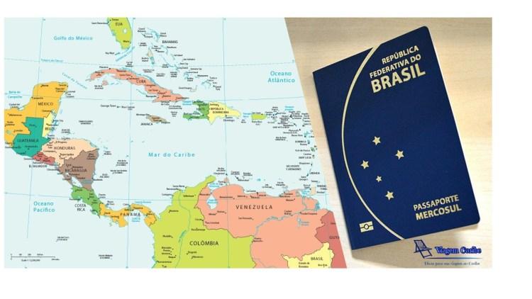 Pasaporte com mapa_imagem