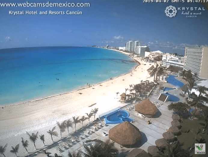 webcam cancun