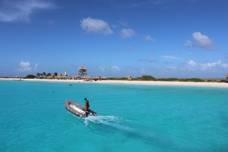 Barqueiro em Klein Curaçao