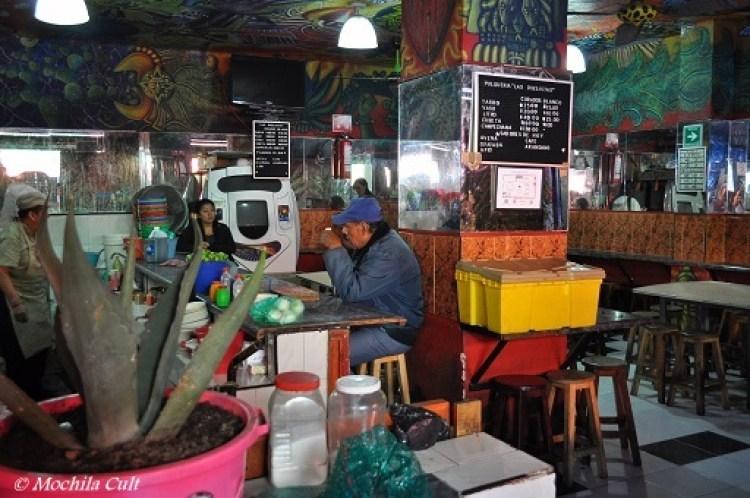 Pulqueria Las Duelistas. Foto: Cecilia Fabroni