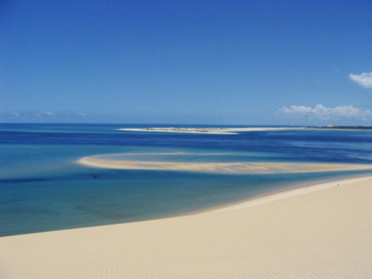 A fantástica ilha de Bazaruto, em Moçambique, não ficou fora dessa viagem