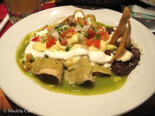 Enchiladas mexico