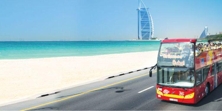 Ônibus turístico praias dubai