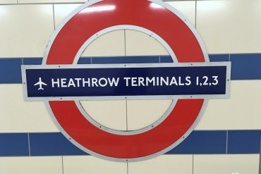 Como ir de Heathrow ao centro de Londres