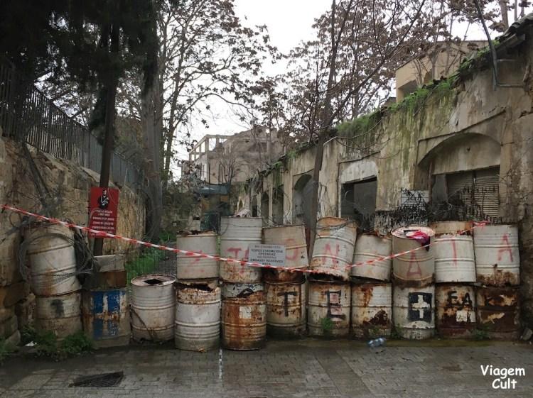 Nicosia-barricadas