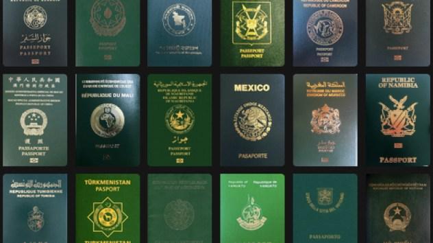 Passaportes-verdes