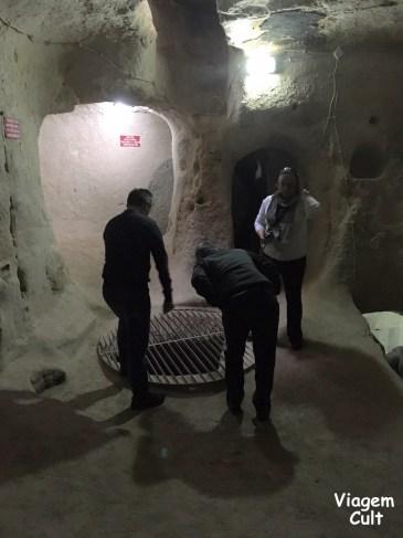 capadocia turquia cidade subterrânea