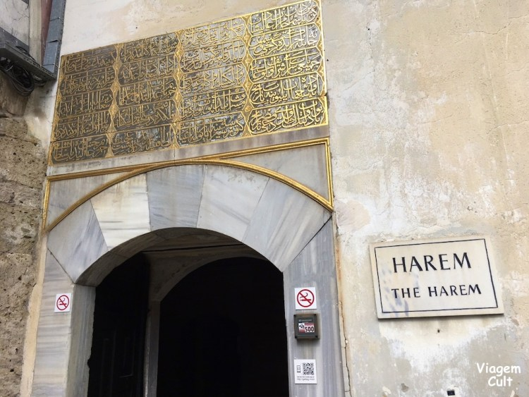 Harem Palácio Topkapi