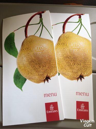 menu emirates