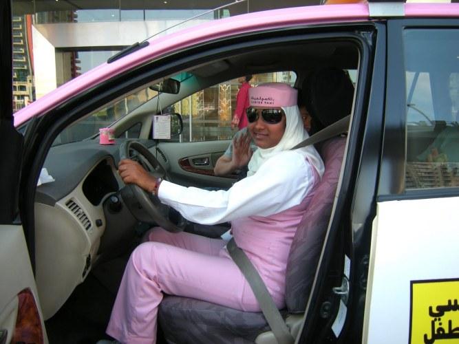 taxi mulheres dubai