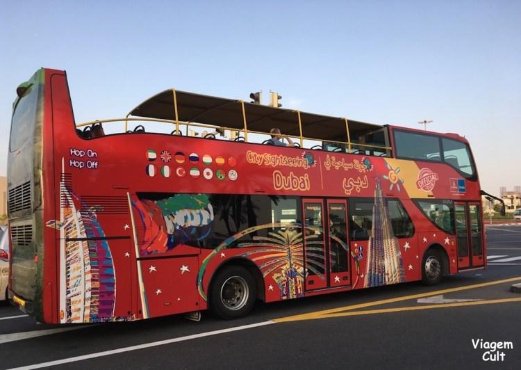 Ônibus turístico dubai