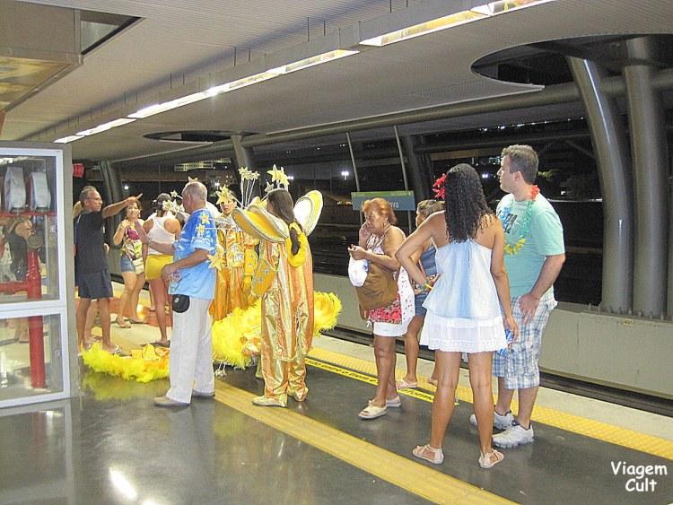 metrô rio de janeiro carnaval