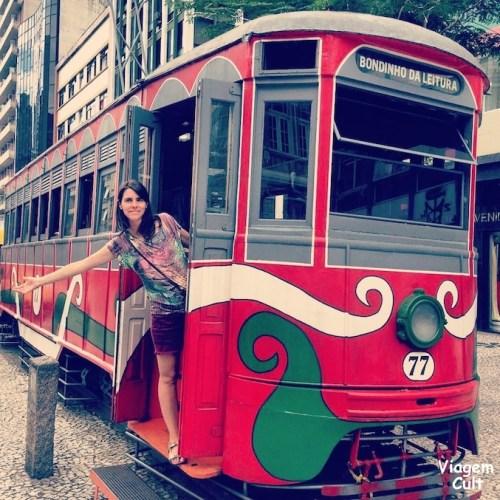 Ponto turistico de Curitiba- Bondinho rua xv