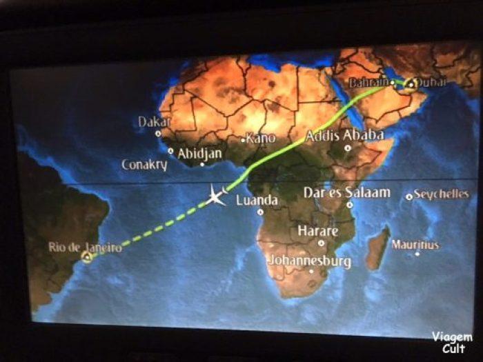 cabine da Emirates