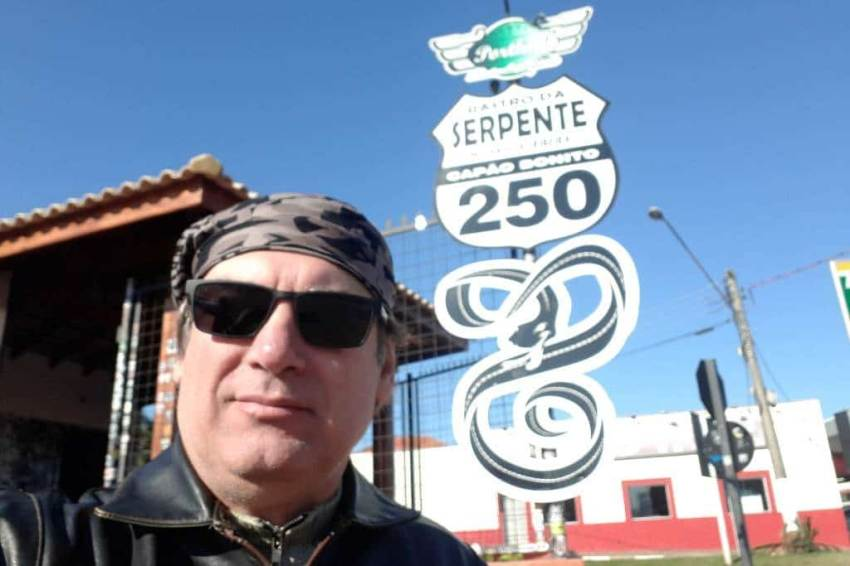 Viagem de Moto Serra do Rio do rastro
