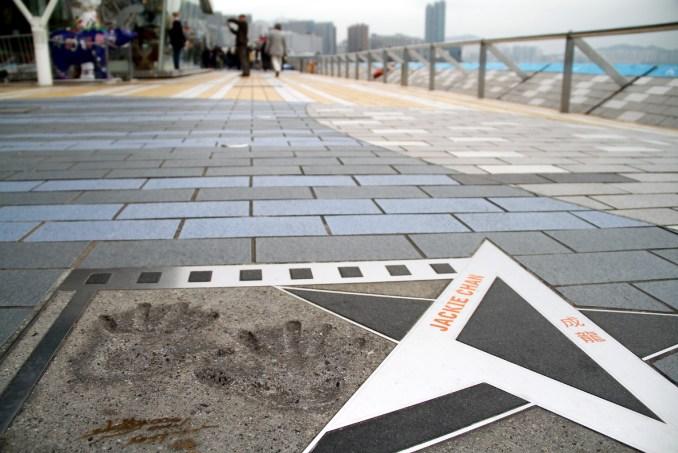'Avenue of Stars', calçadão que homenageia profissionais da indústria cinematográfica de Hong Kong