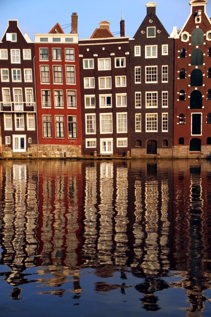Amsterdã, na Holanda (foto: Eduardo Vessoni)