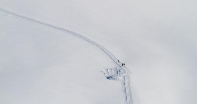 Vista da região de Jungfraujoch, a estação de trem mais alta da Europa (foto: Eduardo Vessoni)