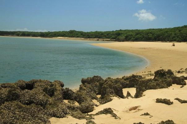Ilha de Inhaca, a 34 km de Maputo