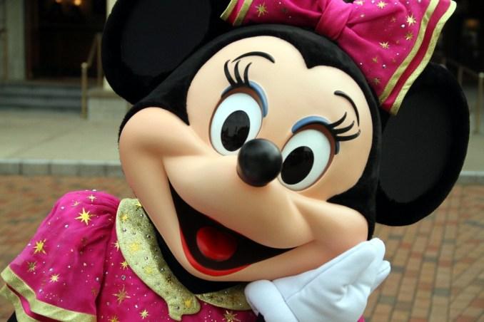 Minnie, na Disney de Hong Kong (foto: Eduardo Vessoni)