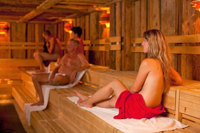 Sauna do Spreewald Bad, em Lübbenau (foto: Divulgação)