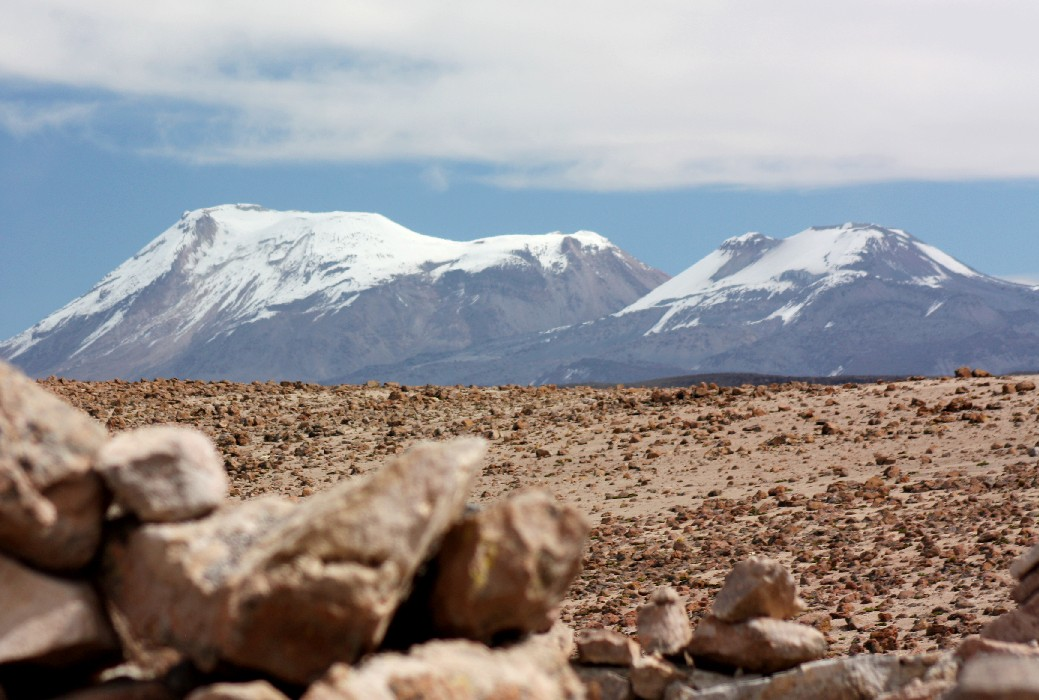 Vulcão Ampato (foto: Eduardo Vessoni)