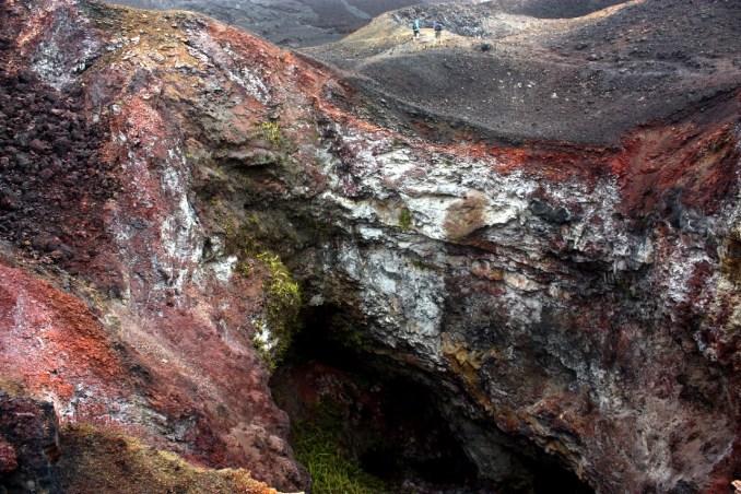 Vulcão Sierra Negra, em Galápagos (foto: Eduardo Vessoni)