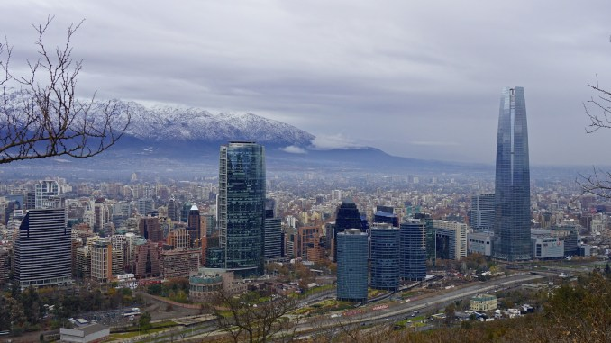 Vista de Santiago, capital do Chile (foto: alobos Life /Flickr Creative Commons)