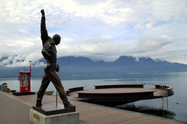 Queen: the Studio Experience, exposição em Montreux, na Suíça (foto: Eduardo Vessoni)
