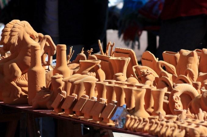 Feira de artesanato de Puente del Inca (foto: Eduardo Vessoni)