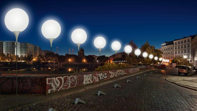 Berlim abrigará instalações com balões brancos em comemoração aos 25 anos da queda do Muro de Berlim (foto: berlin.de / Divulgação)